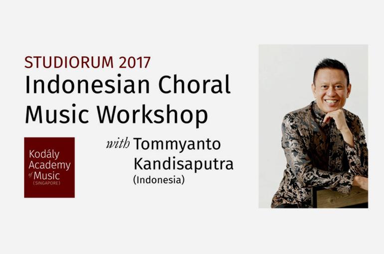 Studiorum 2017: Indonesian Choral Music Workshop By Tommyanto Kandisaputra