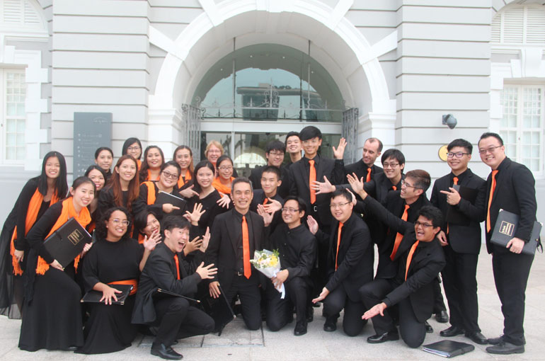 SCS At The Singapore Choral Festival